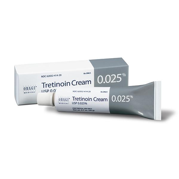 tretinoin cream .025%