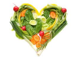 heart image made of vegetables